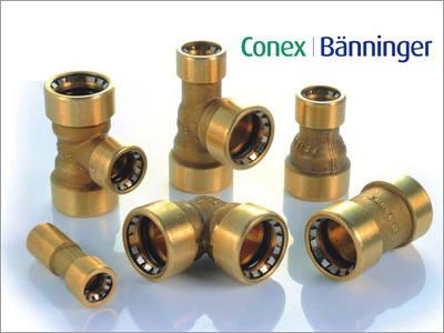Conex-Push Fit-Steckfittings von Polysan