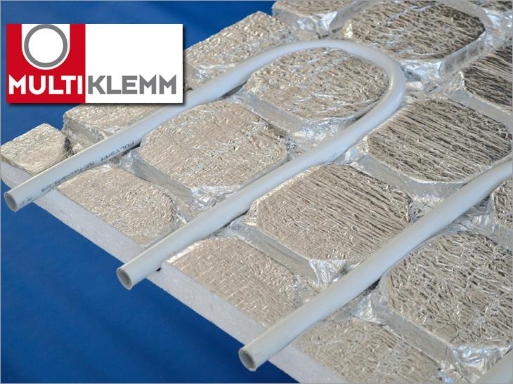 Fußboden Trockenbauweise ~ Multiklemm fußbodenheizung von polysan flächenheizungssystem für